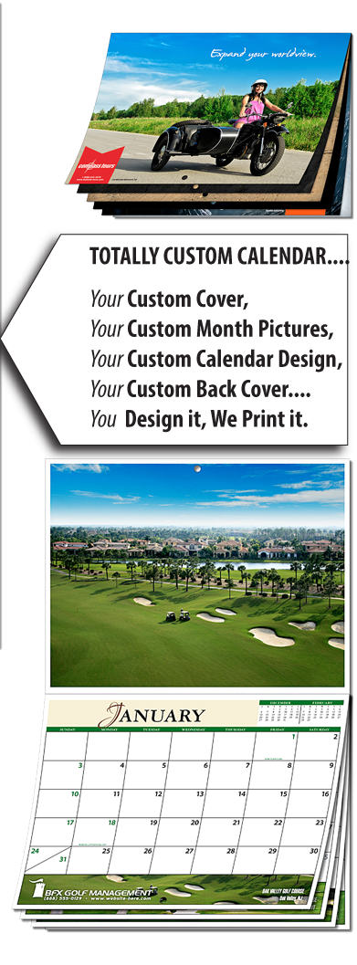 custom photo calendar printing