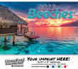 Beaches Wall Calendar 2017 - Stapled