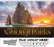 National Parks Wall Calendar 2017 - Spiral