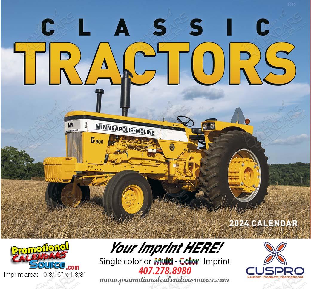 Classic Tractors Promotional Calendar 2018 Stapled