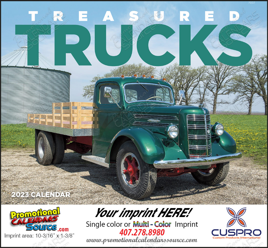 Treasured Trucks - Promotional Calendar 2017 Stapled