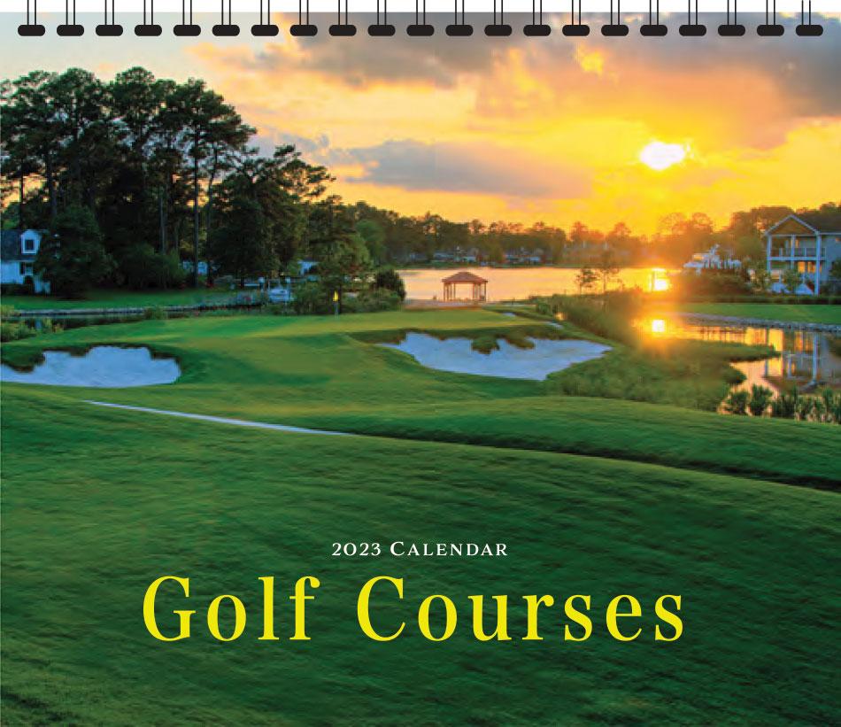 Golf Courses Promotional Calendar 2018