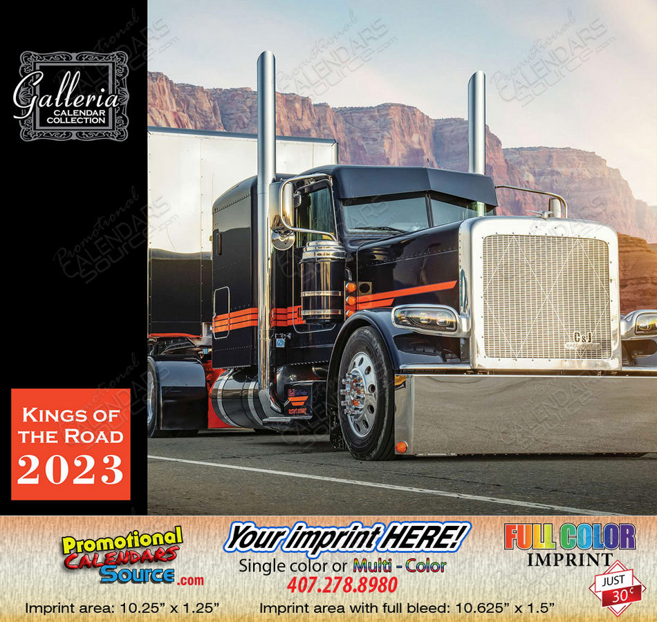Kings of the Road Trucks Calendar 2018