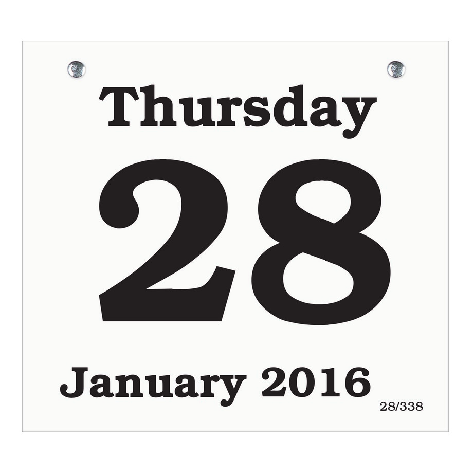 Daily Calendar Refills – Daily Calendar