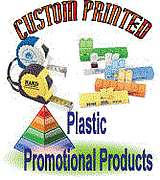 Plastic promotional products Made in USA
