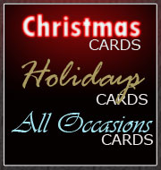 Personalized Holiday, Christmas & all Occasions Cards for business and personal use