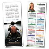 Laminated Card Calendar - 3.5 x 8.5