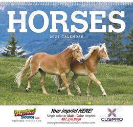 Horses Promotional Calendar 2018