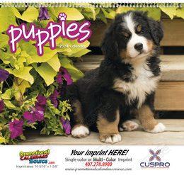 Puppies Promotional Calendar 2018