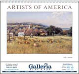 Artists of America Promotional Calendar 2018