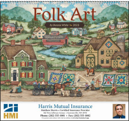 Folk Art Promotional Calendar 2017