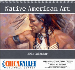 Native American Art Promotional Calendar 2017