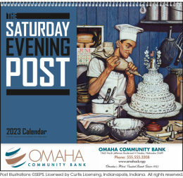 The Saturday Evening Post Promotional Calendar 2018
