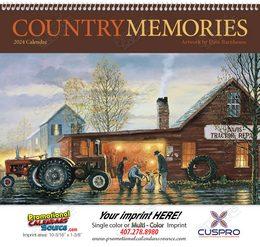 Country Memories Promotional Calendar 2017