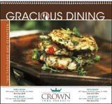 Gracious Dining Promotional Calendar 2017