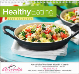 Healthy Eating Promotional Calendar 2017