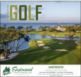 Golf Promotional Calendar 2018