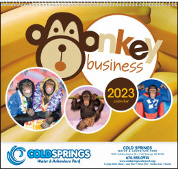 Monkey Business Promotional Calendar 2017