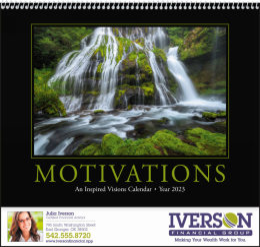 Motivations Promotional Calendar 2018