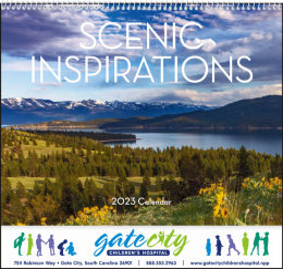 Scenic Inspirations Promotional Calendar 2017