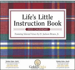 Life s Little Instruction Book Promotional Calendar 2018
