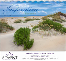 World of Inspiration Promotional Calendar 2018