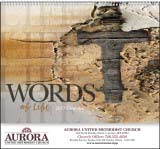 Words of Life Promotional Calendar 2017