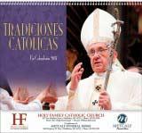 Tradiciones catolicas Promotional Calendar 2017