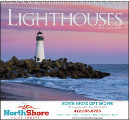 Lighthouses Promotional Calendar 2018