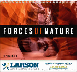 Forces of Nature Promotional Calendar 2018