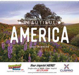 Beautiful America Promotional Calendar 2018
