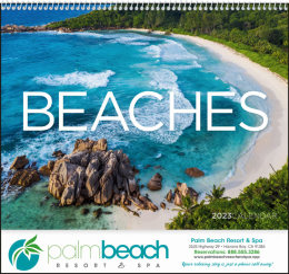 Scenic Beaches Promotional Calendar 2018