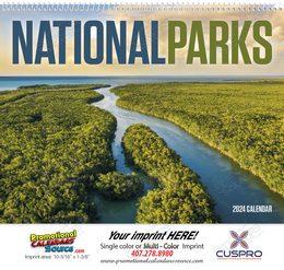 National Parks Promotional Calendar 2018