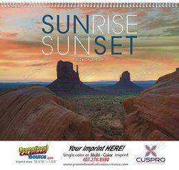 Sunrise Sunset Promotional Calendar 2018