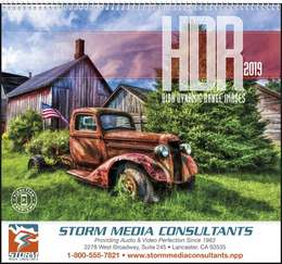 HDR High Dynamic Range Images Promotional Calendar 2017