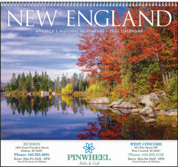 New England Promotional Calendar 2018