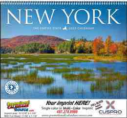 New York State Promotional Calendar 2018