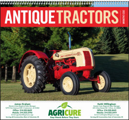 Antique Tractors Promotional Calendar 2018