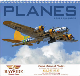 Planes Promotional Calendar 2018