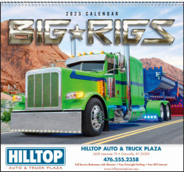 Big Rigs Promotional Calendar 2018