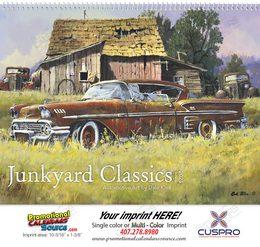 Junkyard Classics by Dale Klee Art Calendar 2018