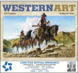 Western Art by Roy Lee Ward Promotional Calendar 2018