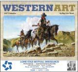 Western Art by Roy Lee Ward Promotional Calendar 2017