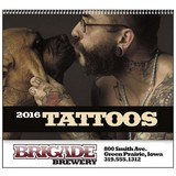 Tattoo Art Promotional Calendar 2017
