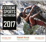 Extreme Sports Motivation Promotional Calendar 2018