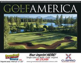 Golf America Promotional Calendar 2018