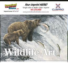 Wildlife Art Promotional Calendar 2018