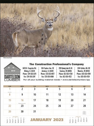 North American Wildlife Promotional Calendar 2017