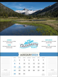 American Splendor without Date Blocks Promotional Calendar 2018