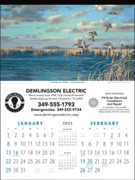 North American Waterfowl Promotional Calendar 2018